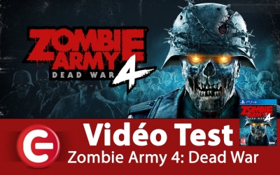 Test vidéo [VIDEO TEST] Zombie Army 4: Dead War, Un TPS dans l'air du temps !